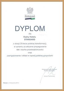 Dyplom Misnistra Gospodarki